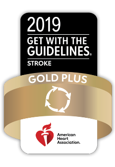 stroke gold plus logo